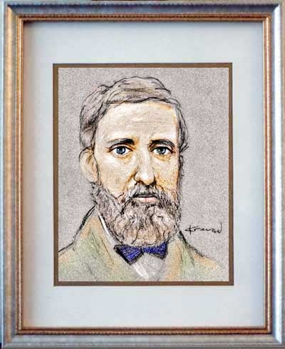 Henry David Thoreau par originaldo